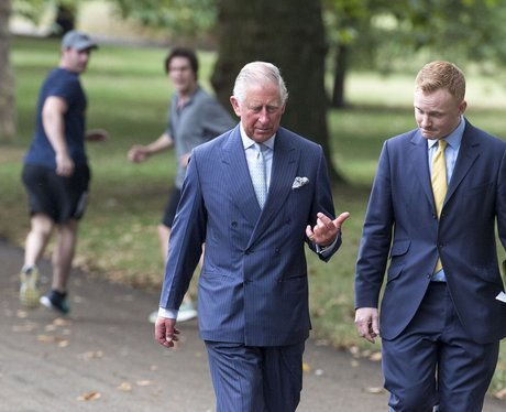prince charles green park joggers