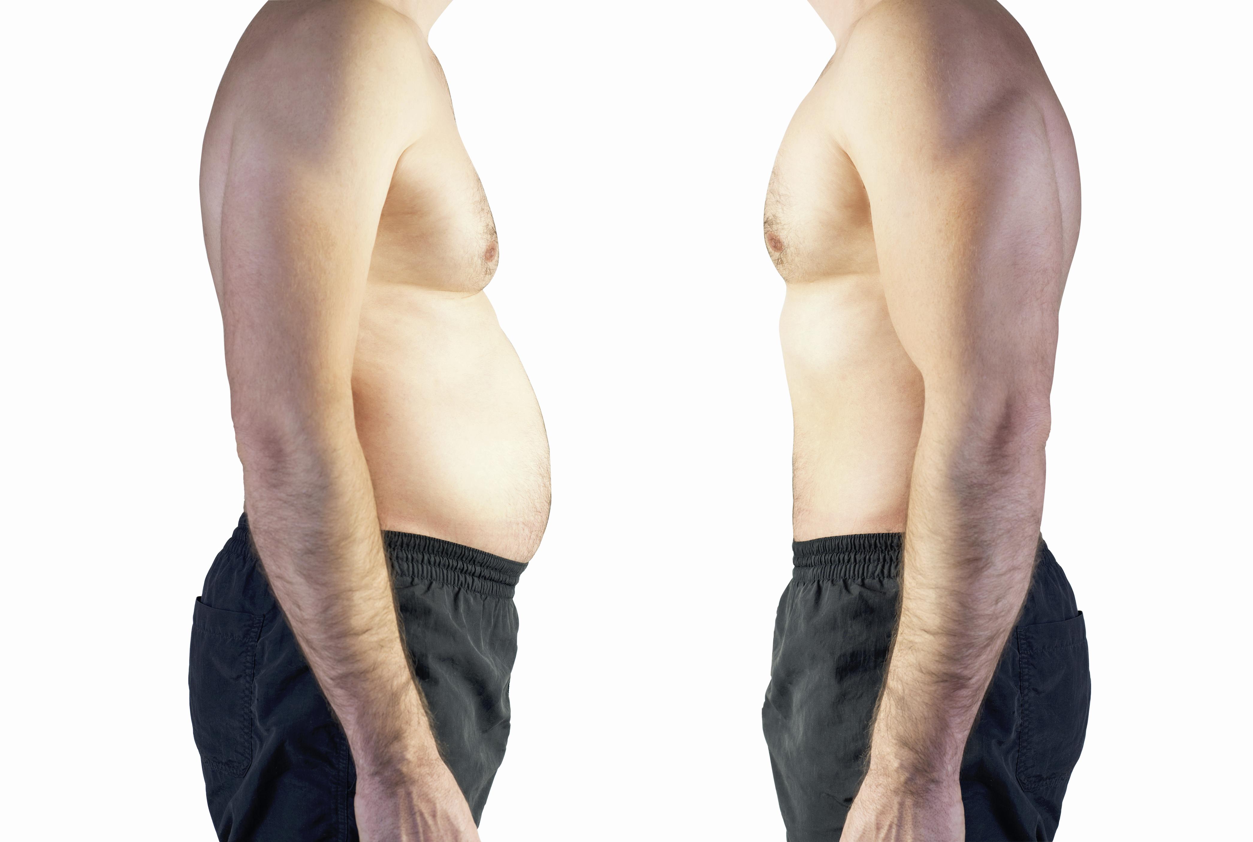 man's torso