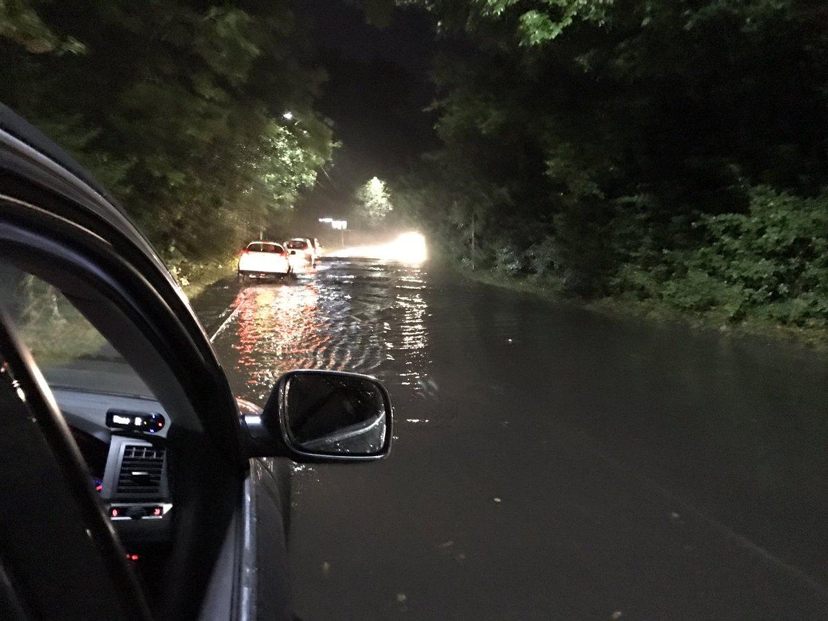 Flash flood Newbury