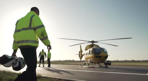 Prince William air ambulance pilot documentary bbc