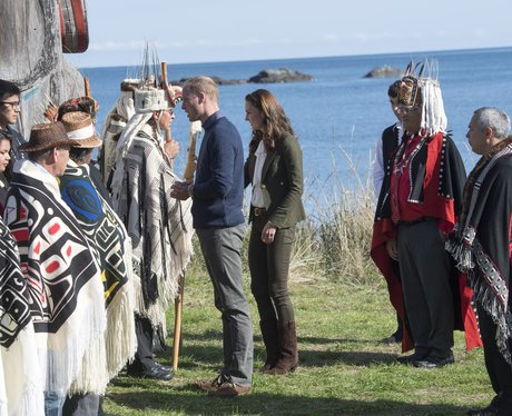 A Traditional Haida Welcome For Prince Prince Will