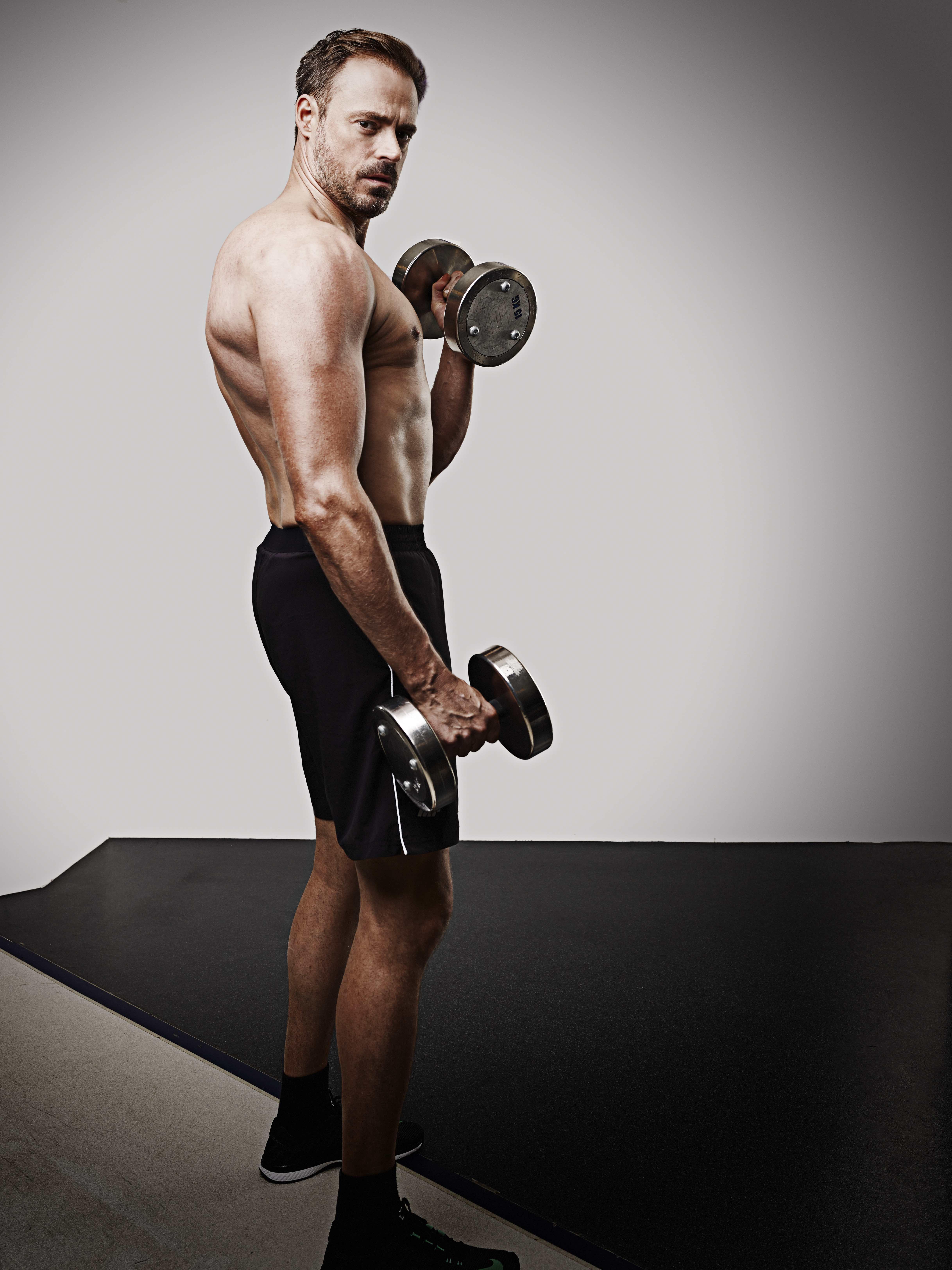 Jamie Theakston Men's Fitness Magazine