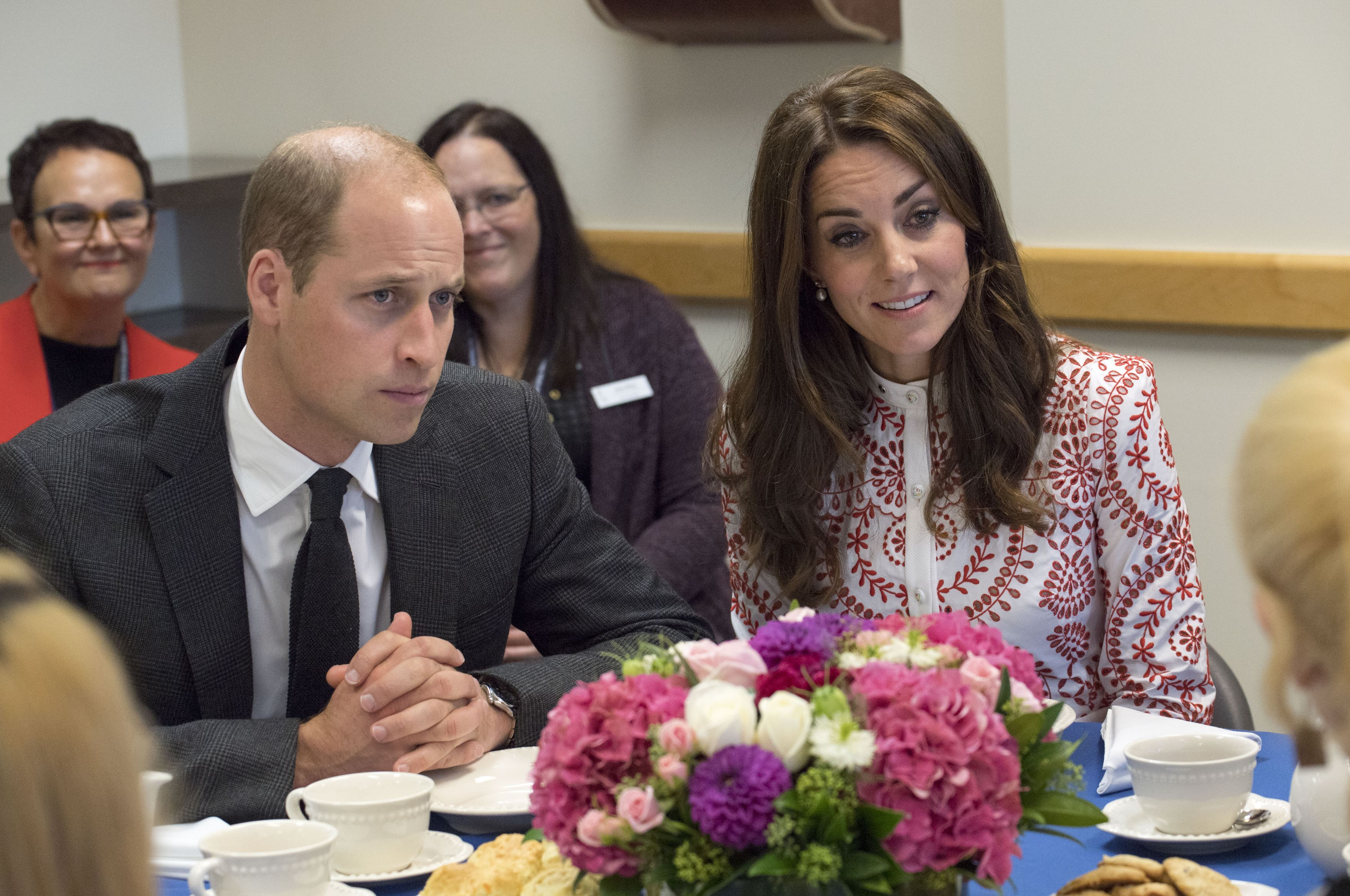 Prince William Hides His Emotions At Princess Dian