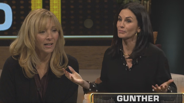 Watch Courtney Cox And Lisa Kudrow Smash A 'Friend