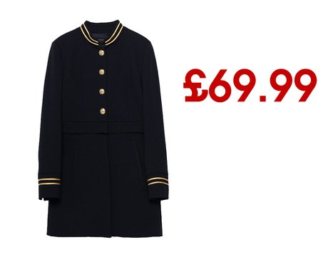 Frock Coat from Zara