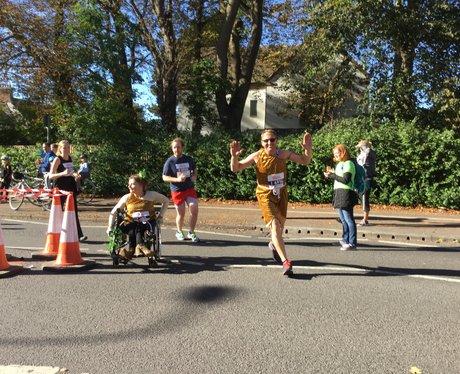 Heart Angels at Oxford Half Marathon