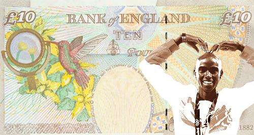 Mo Farah Bank Note