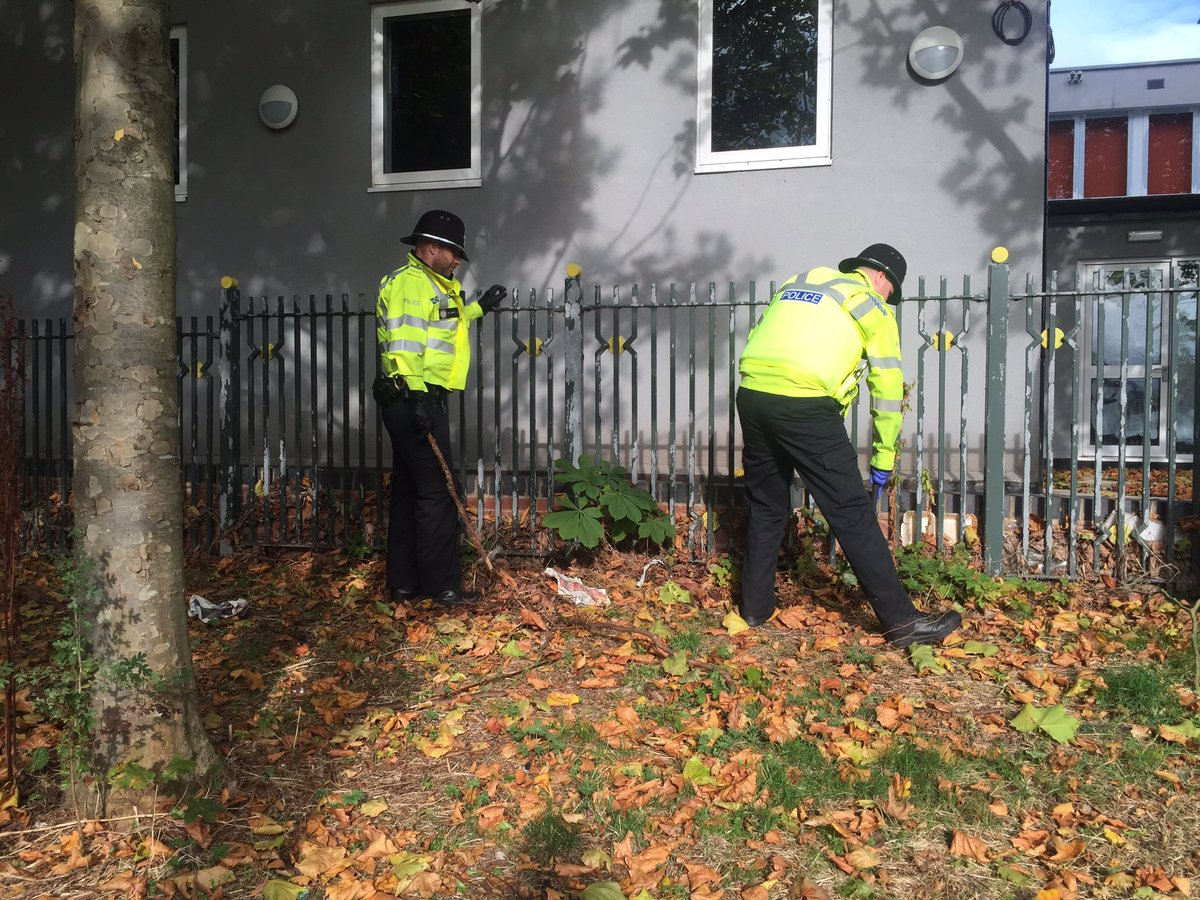 West Mids Police search wasteland in Birmingham