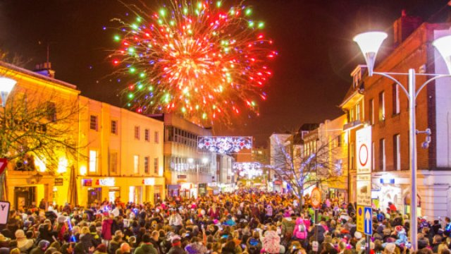 Chelmsford Lights Up For Christmas! - Heart Essex