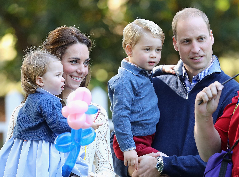 Duke and Duchess of Cambridge Prince George Prince