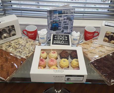 Friday Cake Break Winners with Simmons Bakers