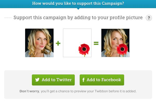 Here's How You Add A Poppy To Your Facebook Profil