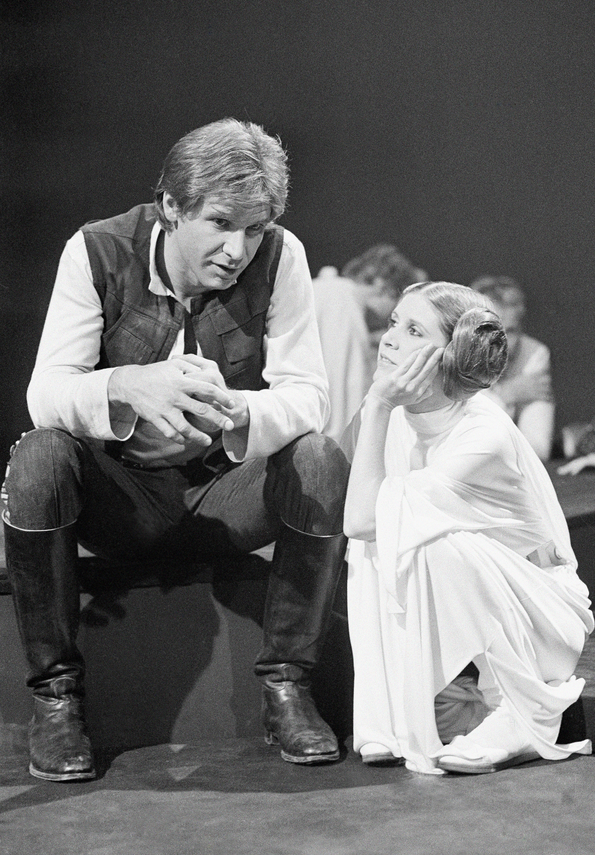 Carrie Fisher reveals London affair with Harrison