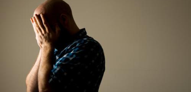 More than a third of men don't ask for help when struggling to cope