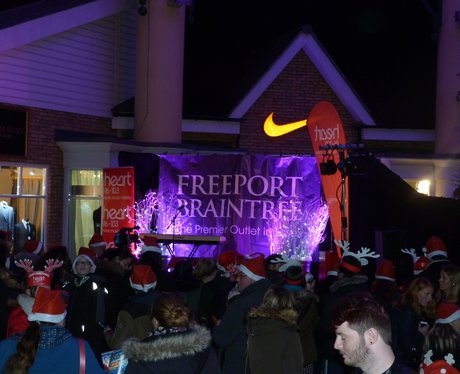 Freeport Braintree Christmas Lights 2016