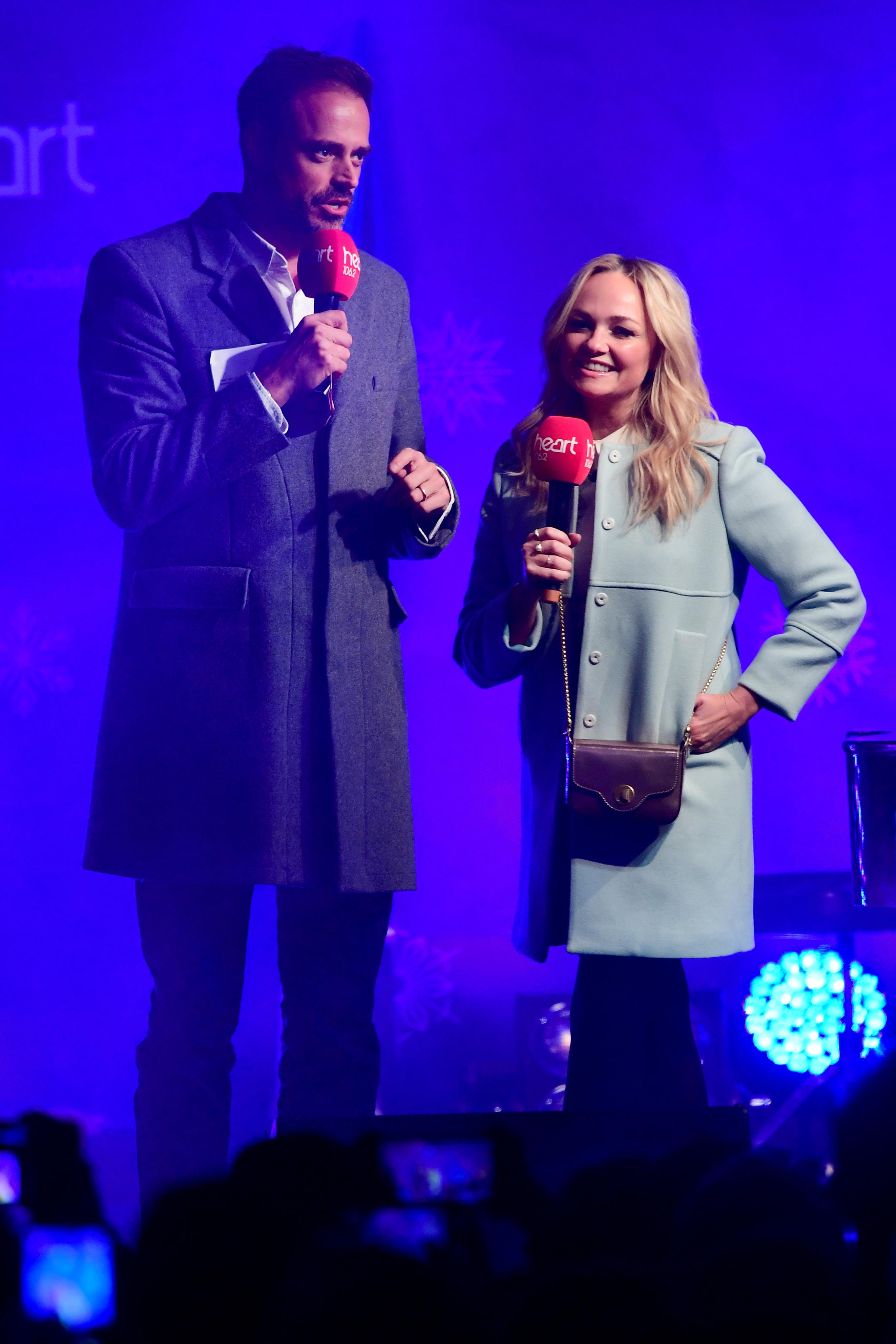 Jamie & Emma Onstage