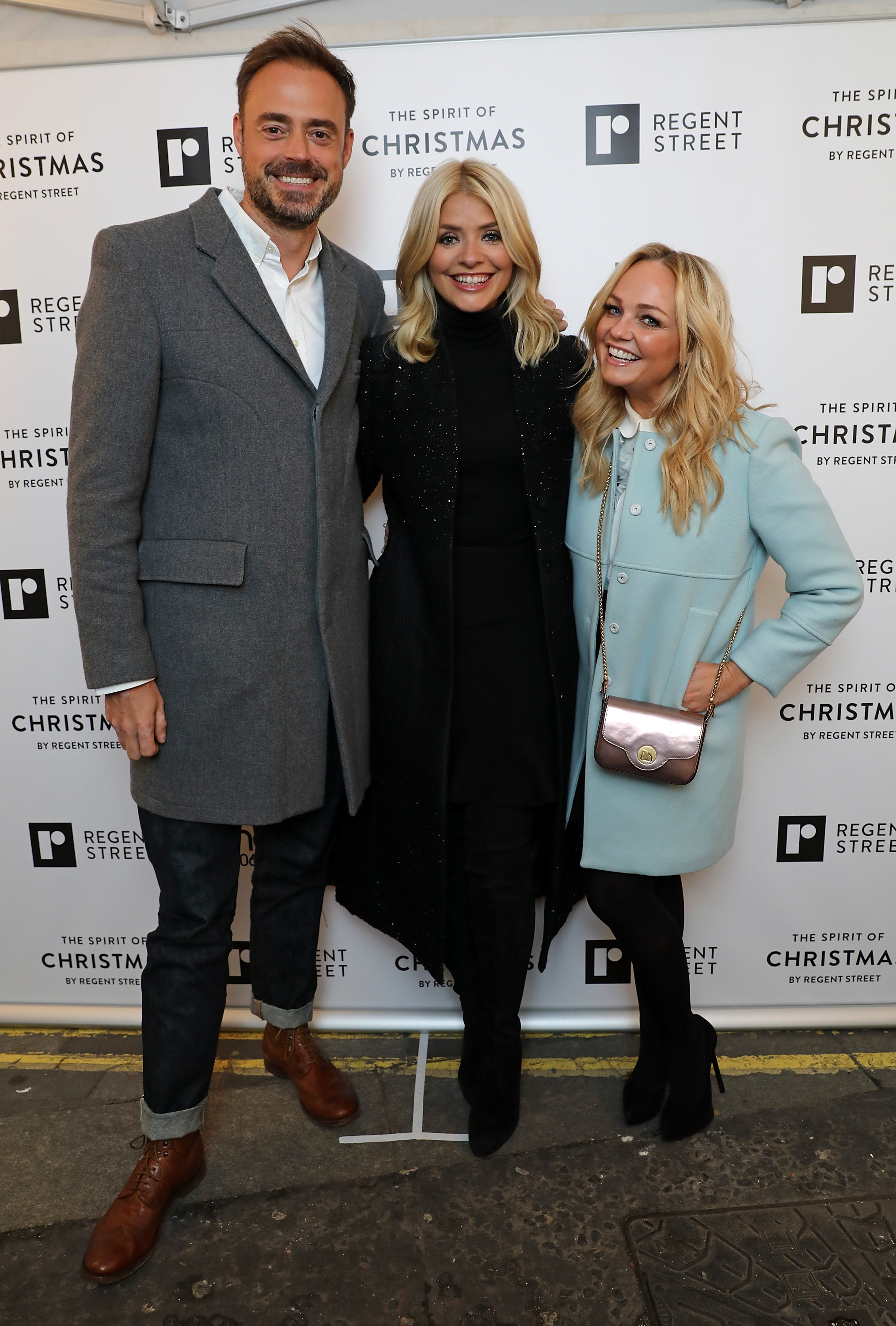 Jamie & Emma with Holly Willoughby