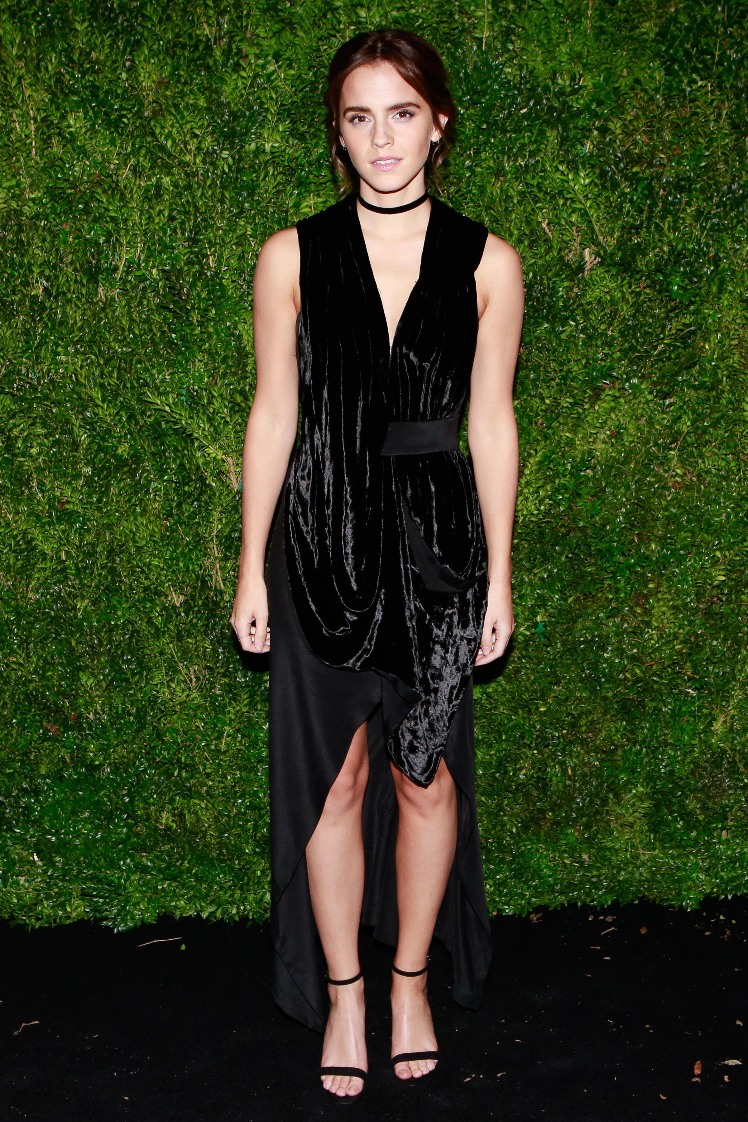 Christmas Party Looks 2016 Emma Watson