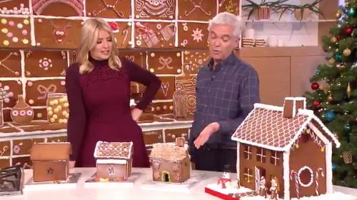 Holly And Phil Gingerbread House 1