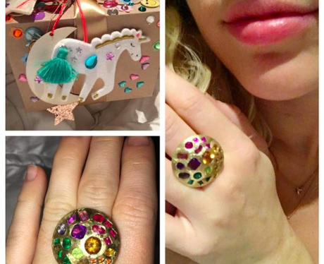 Miley Cyrus Ring From Liam Hemsworth