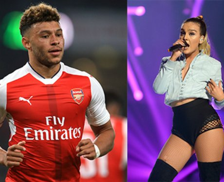Perrie Edwards Alex Oxlade-Chamberlain
