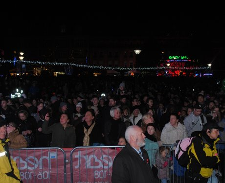 Sheffield Xmas Light Switch On
