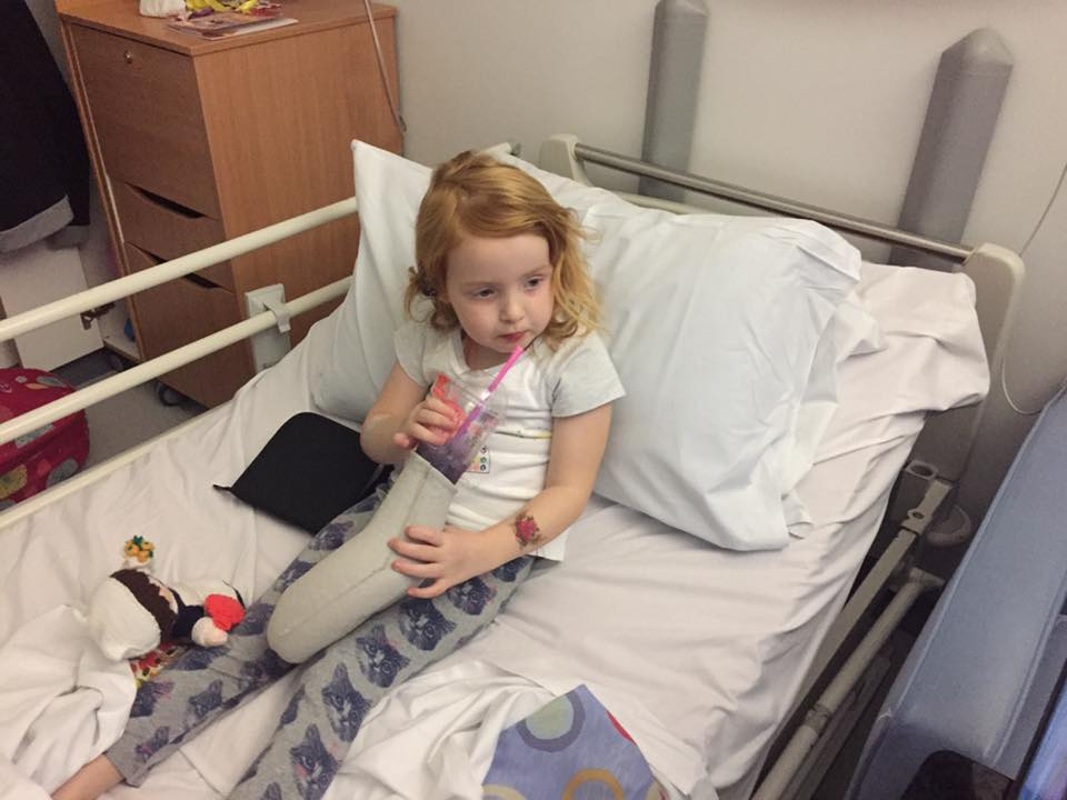 Freya In Hospital
