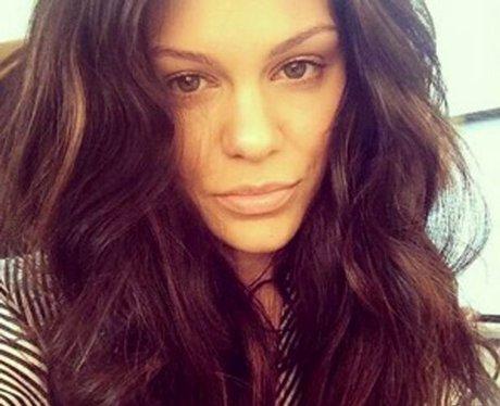 Jessie J long hair selfie