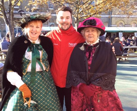 Victorian Festival of Christmas at Portsmouth Dock