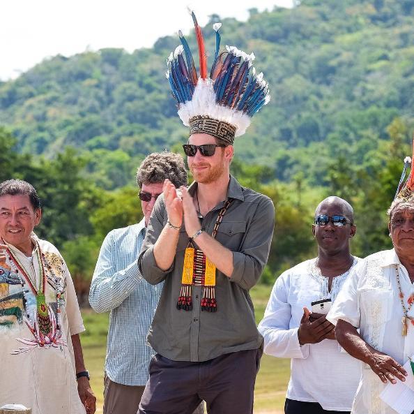Prince Harry Surama Village Barbados