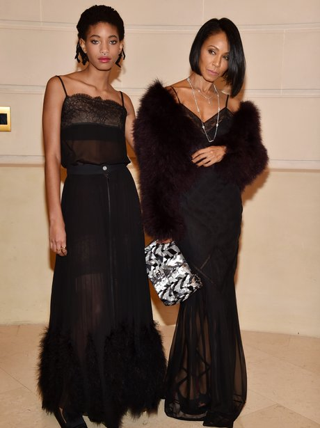 Willow and Jada Smith