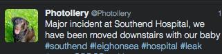 Southend Hospital Twitter