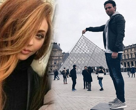 Jesy Nelson and her new man in Paris