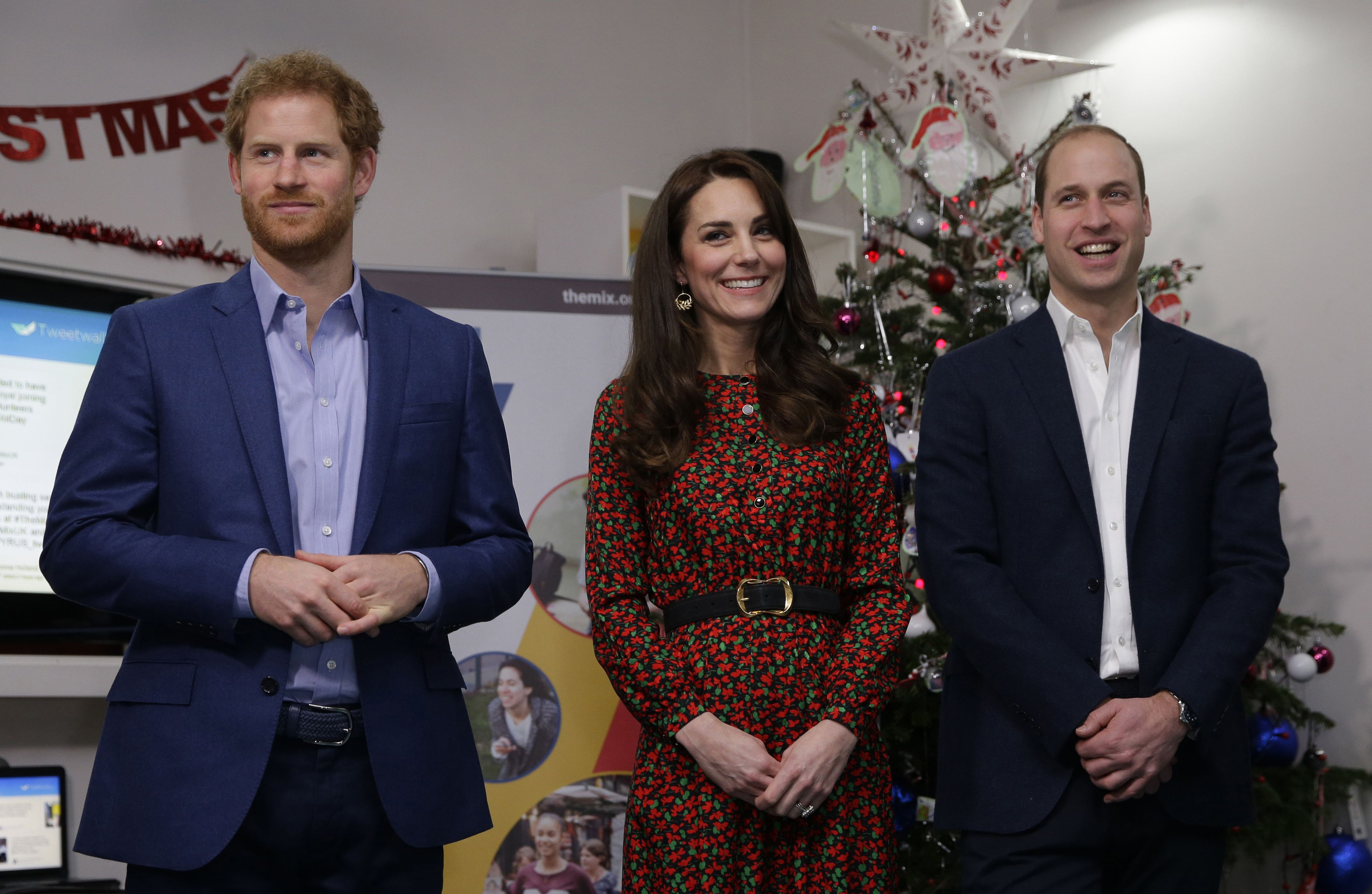 Prince Harry Kate Middleton Prince William charity