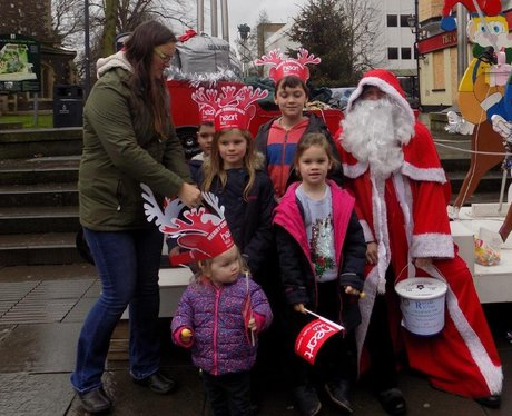 Did you spot Father Christmas make an early visit