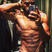 Image 8: Strictly winner Ore Obuda shows off his muscles