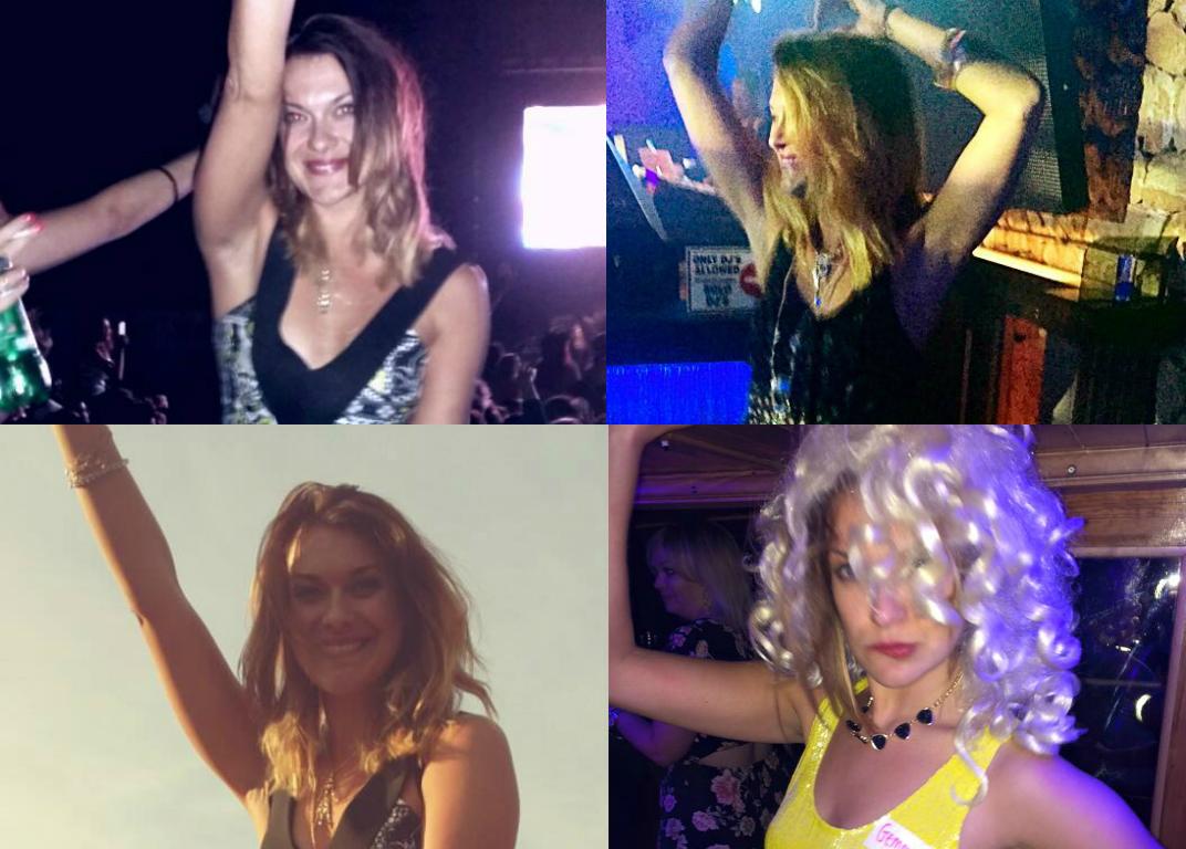 Gemma Partying 3