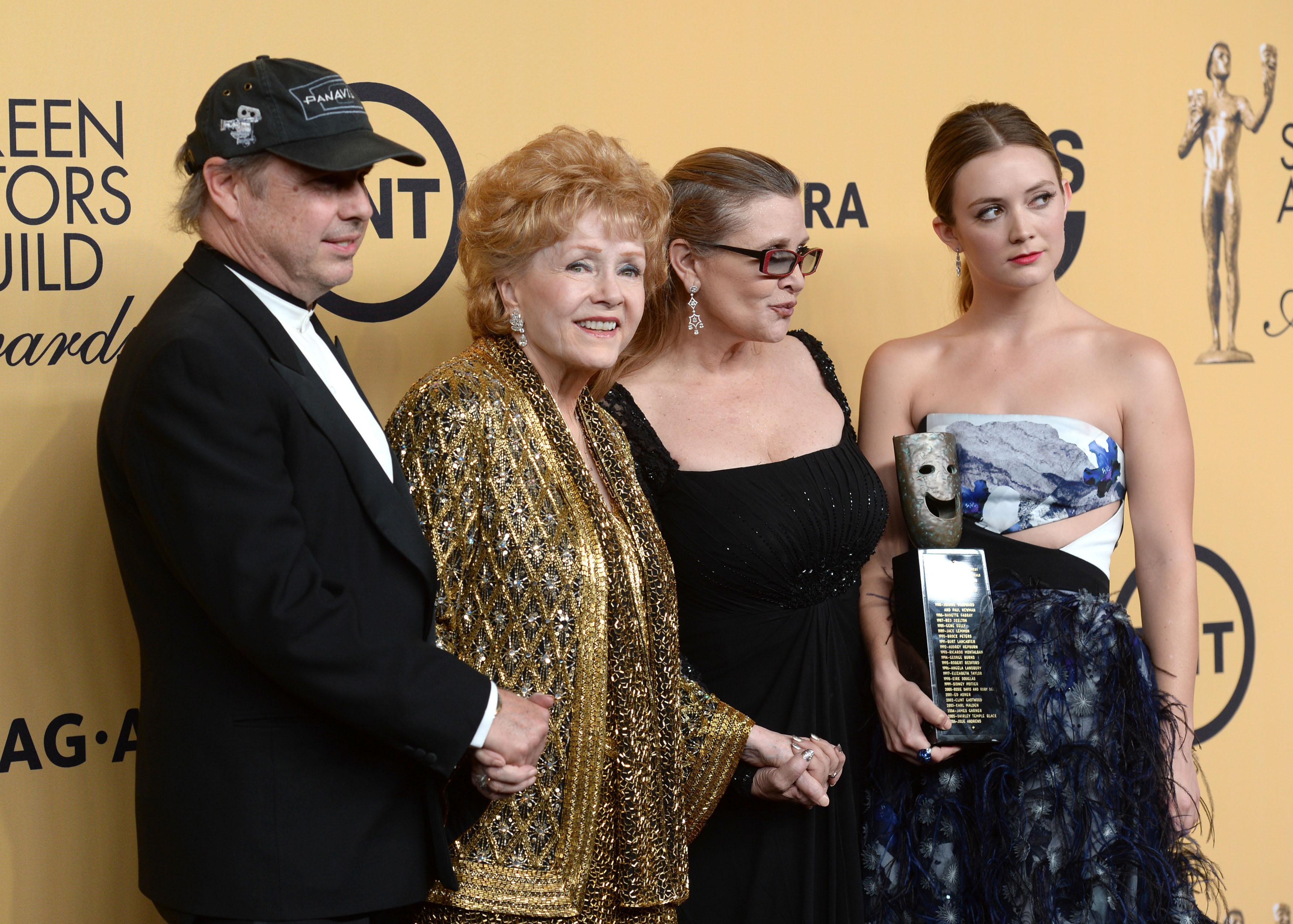Todd Fisher, Debbie Reynolds, Carrie Fisher, Billi