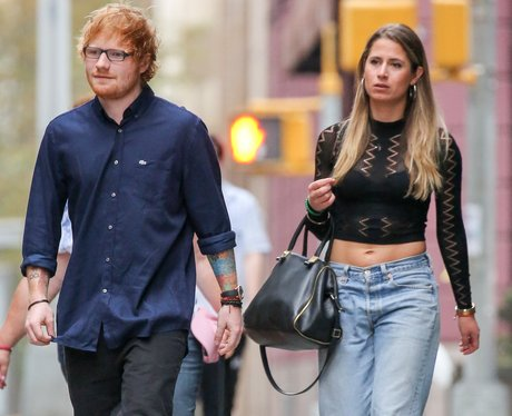 Ed Sheeran and Cherry Seaborn In New York