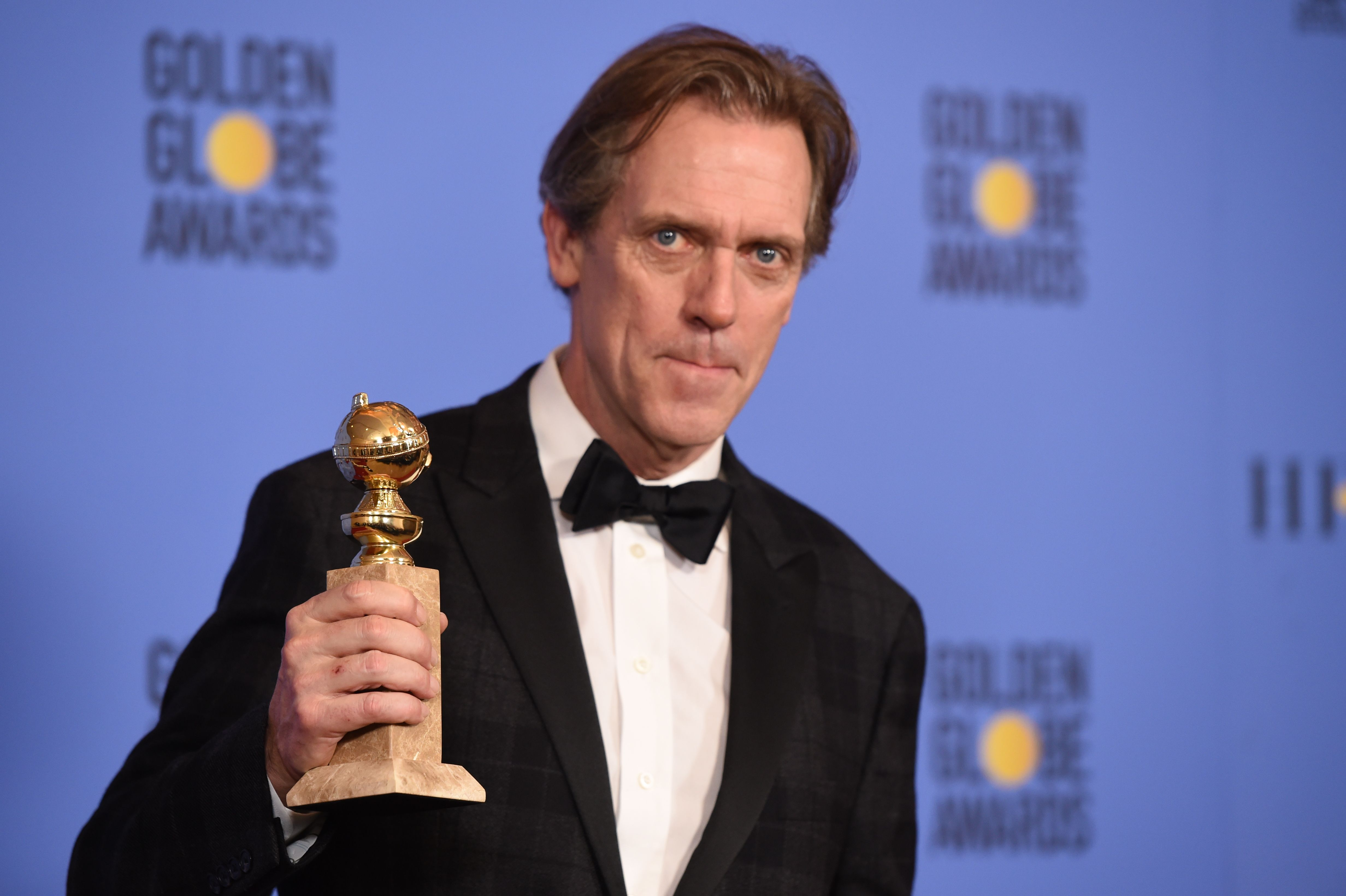 Hugh Laurie 74th Golden Globes