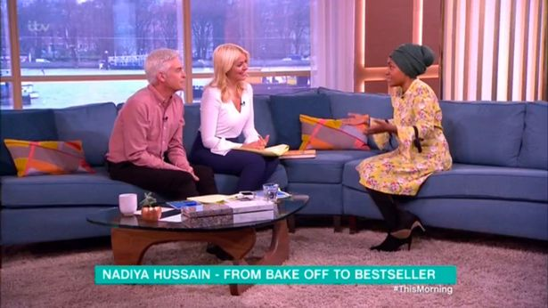 Nadiya Hussein chats to Holly and Phil on This Mor