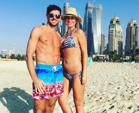 Steven Gerrard pregnant girlfriend Alex