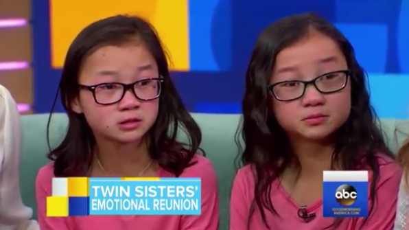 These 10-Year-Old Twins Met For The First Time Aft