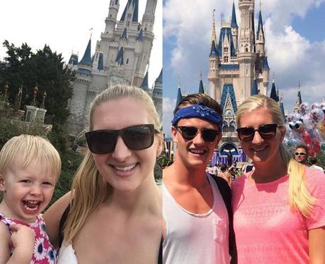 Rebecca Adlington Recreates Disneyland Honeymoon S