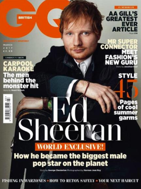 Ed Sheeran GQ