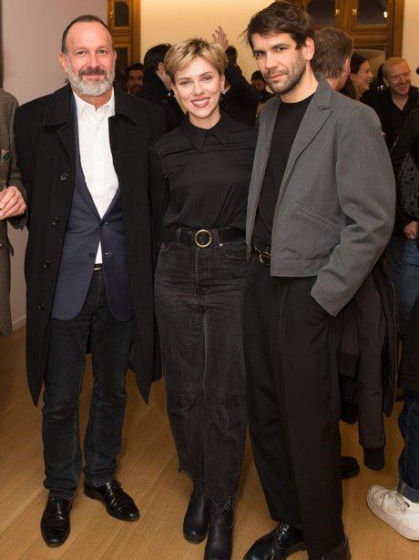 Scarlett Johannson and Romain Dauriac