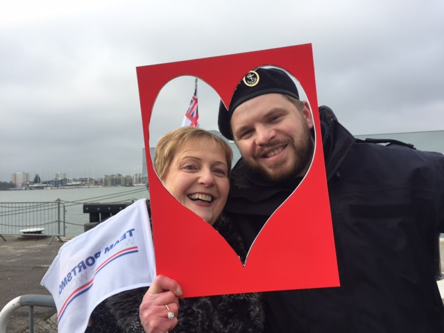 HMS Mersey Crew Returns to Portsmouth heart