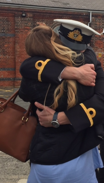 HMS Mersey Crew Returns to Portsmouth Feb 2017
