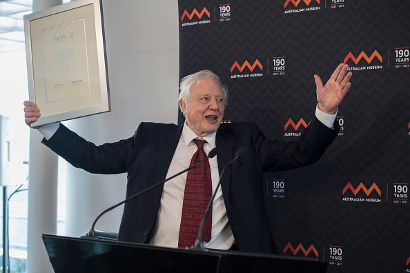 Sir David Attenborough Is Buzzing To Have A Snail