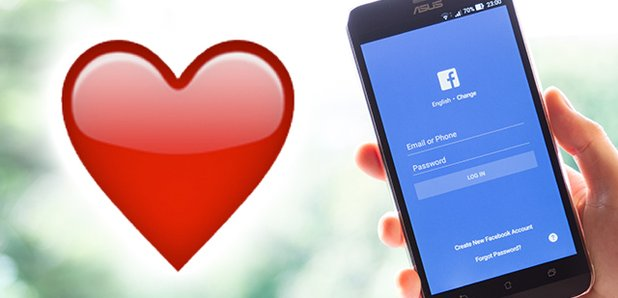 how to do a love heart emoji on facebook
